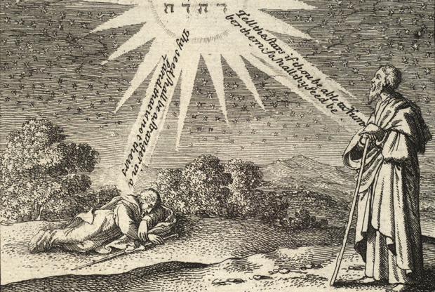 Wenceslaus Hollar, Abraham's dream.