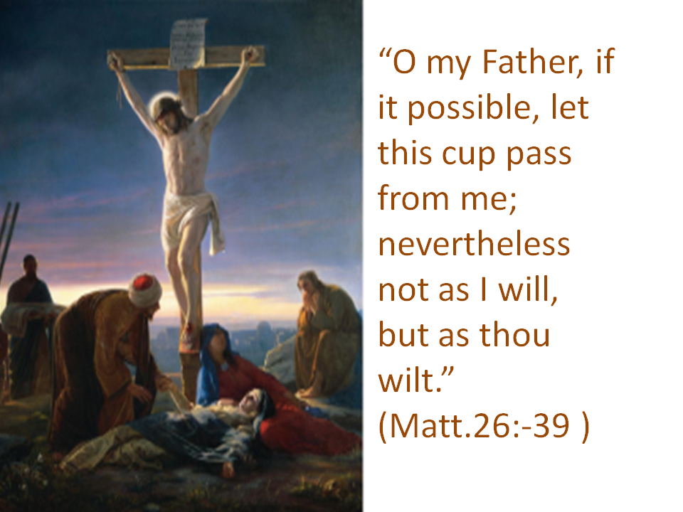 The Cross:God's Will or Man's Failure?